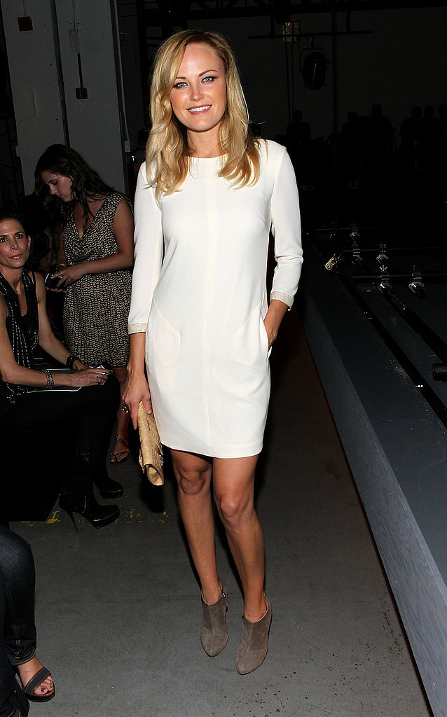 Malin Akerman at Rag & Bone.