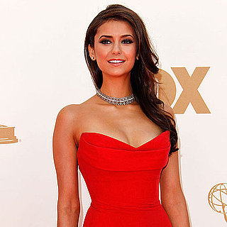 Nina Dobrev Emmys 2011 Red Carpet Pictures