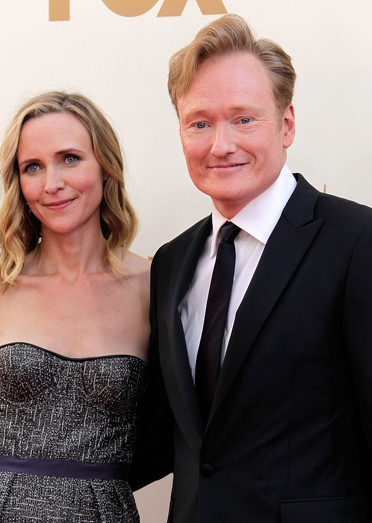 Conan O'Brien and wife Liza Powell