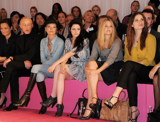 James Brown, Kate Moss, Kristen Stewart and Romola Garai