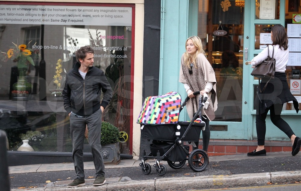 Kate Hudson and Matt Bellamy in the UK.