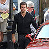 Ryan Reynolds on the Set of RIPD With Kevin Bacon Pictures