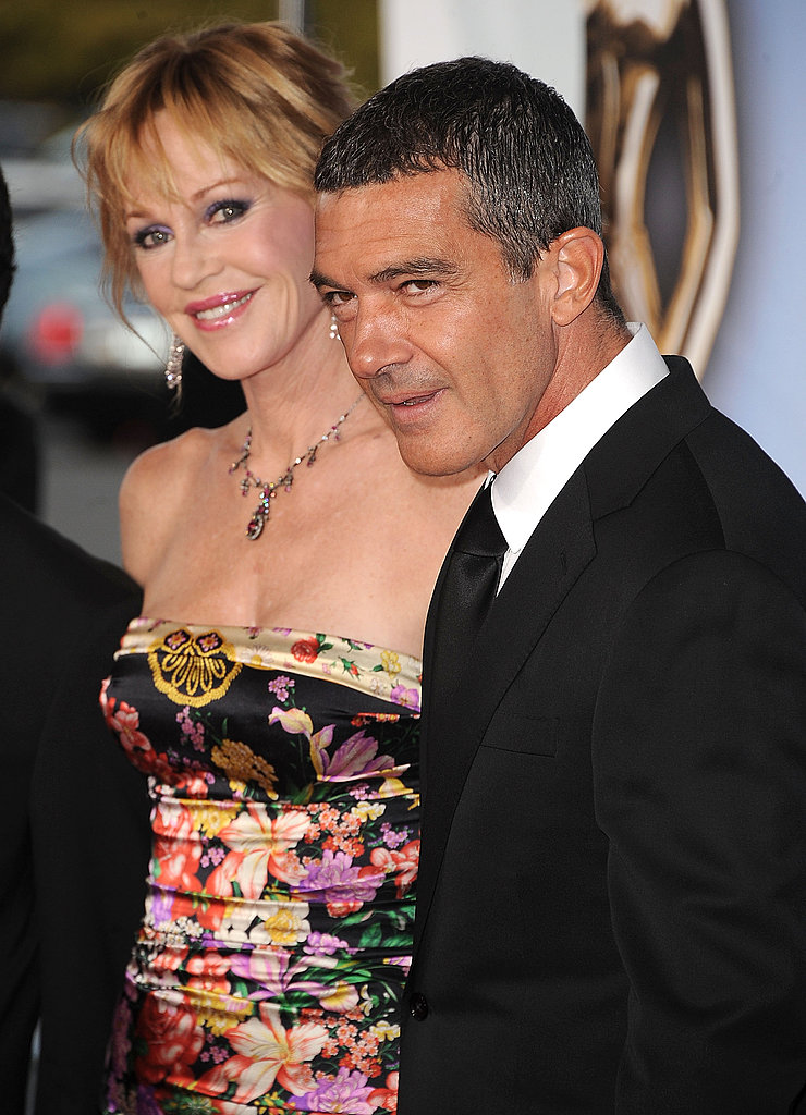 Antonio Banderas and Melanie Griffith at the ALMA Awards.