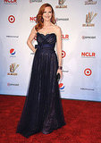 Marcia Cross on the red carpet at the ALMA Awards.