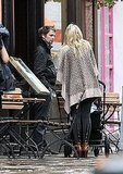 Kate Hudson and Matt Bellamy grab a pint.