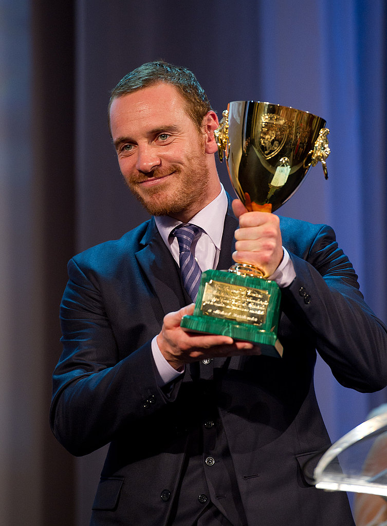 Michael Fassbender at the Venice Film Festival.