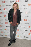 Jamie Campbell Bower was in Toronto for the debut of the movie.