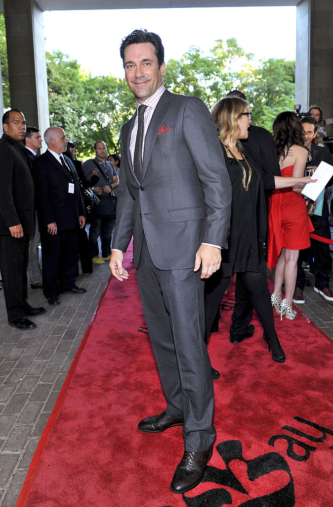 Jon Hamm at the Friends With Kids premiere on Sept. 9.