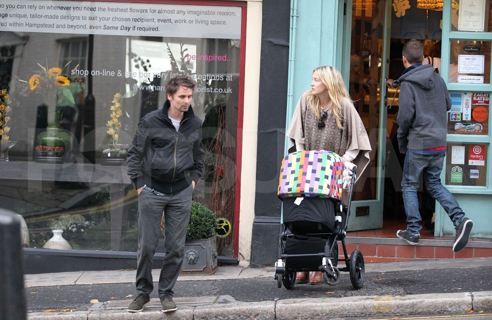 New mom Kate Hudson with Matt Bellamy.