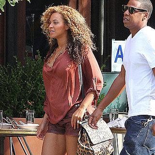Jay-Z and Pregnant Beyonce Knowles Pictures at Locanda Verde