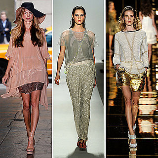 Spring 2012 Fashion Week Trend: Metallic