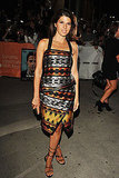 Marisa Tomei channeled a chic, tribal-inspired style in Proenza Schouler on The Ides of March red carpet.