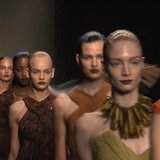 Donna Karan Spring 2012 Runway Video