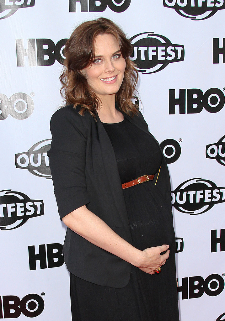 Emily Deschanel's Vegan Pregnancy