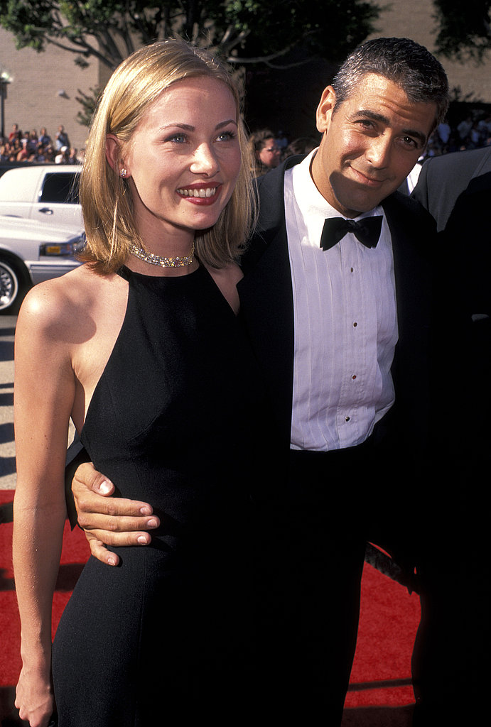 George Clooney brought then girlfriend Celine Balitran, a French waitress and law student, to the 1996 Emmys.