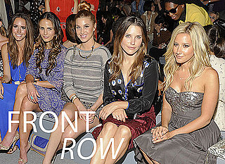 Pictures of Celebrities at 2012 Spring New York Fashion Week