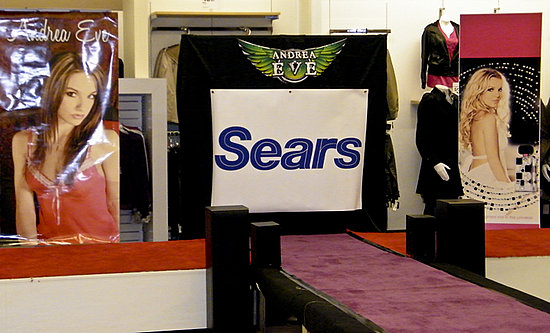 Andrea Eve at Sears Fashion Show 9-11-2011