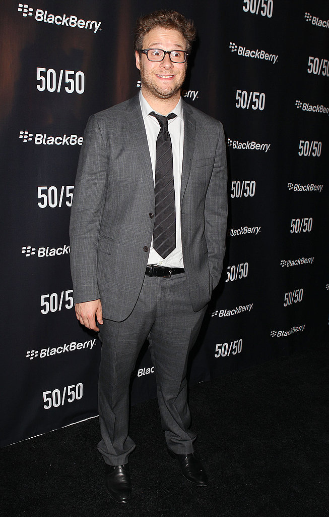 Seth Rogen at the 50/50 premiere party.