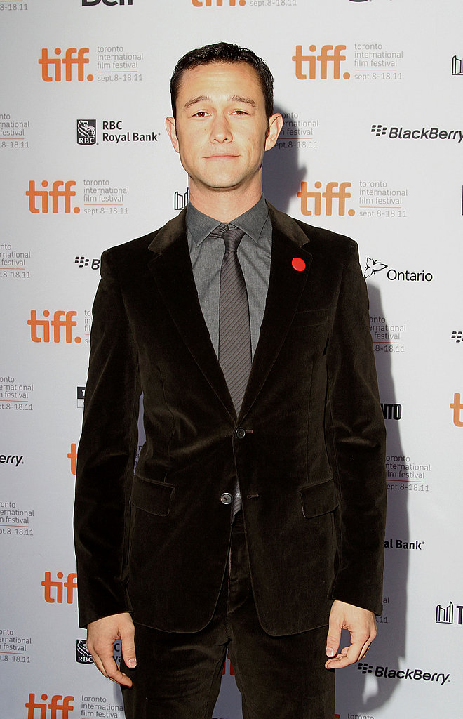Joseph Gordon-Levitt wore a velvet suit to the Toronto Film Festival.
