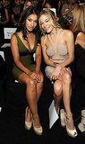 Janina Gavankar joined LeAnn Rimes for Herve Leger.