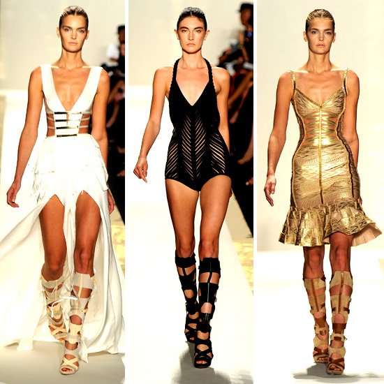 Herve Leger by Max Azria Spring 2012