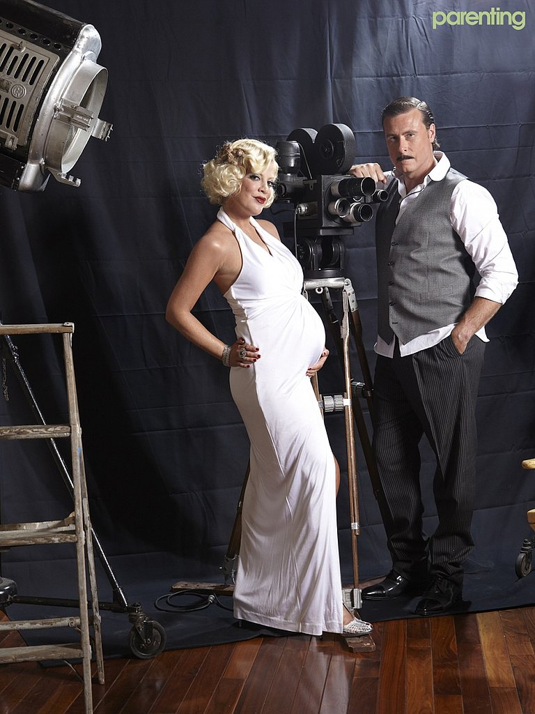 Tori Spelling and Dean McDermott in Parenting Magazine