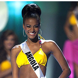 Leila Lopes Wins Miss Universe 2011 Video