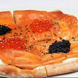 Wolfgang Puck's Smoked Salmon Pizza