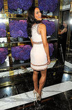 Paula Patton at the opening of Tory Burch's new flagship store.