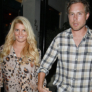 Jessica Simpson and Eric Johnson Pictures at Dinner