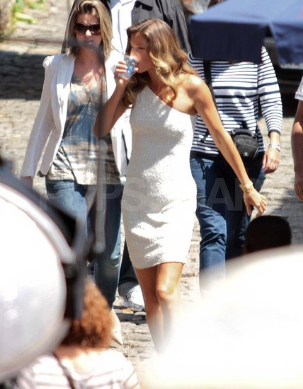 Gisele Bundchen Gets Sexy in White For a South American Photo Shoot