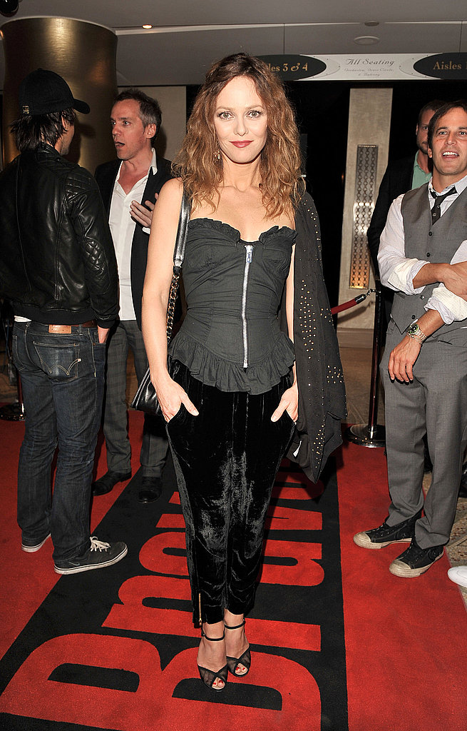 Vanessa Paradis promotes Café de Flore during the 2011 Toronto International Film Festival.