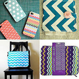 Chevron Print iPhone Case