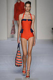 Pops of color also punctuated the Marc by Marc Jacobs swimwear.