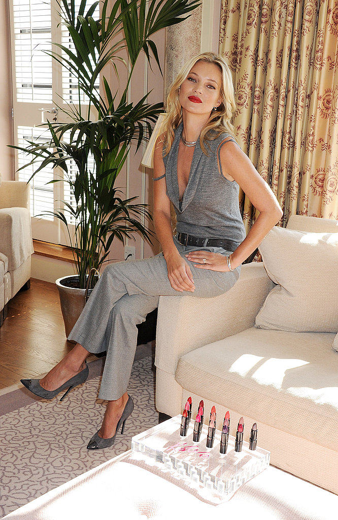Kate Moss celebrates 10 years with Rimmel.