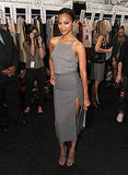 Michael Kors Entertains the Gorgeous Zoe Saldana and Rosie Huntington-Whiteley at NYFW
