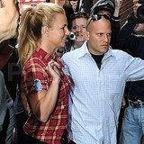 Britney Spears meets fans in London.