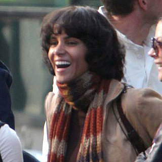 Halle Berry on the Set of Cloud Atlas in Glasgow Pictures