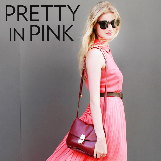 New York Fashion Week Street Style Trend: Pink Ladies