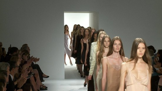 Calvin Klein Spring 2012 Collection Runway