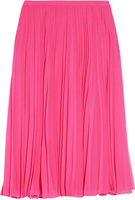 Halston Knife Pleat Skirt ($370)
