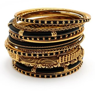 Amrita Singh Jewelry Adreena Bangle Set ($115)