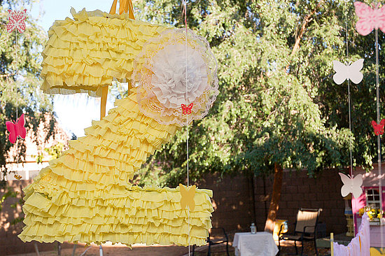 Ruffle Birthday Pinata