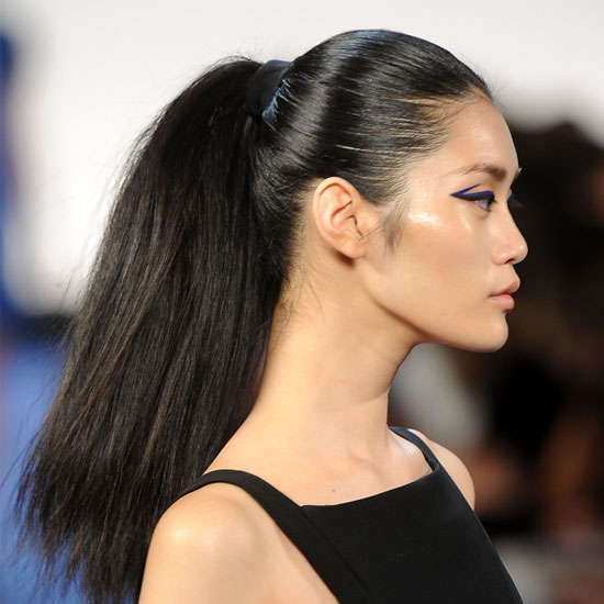 Trend Alert: Cool, Creative Ponytails at New York Fashion Week