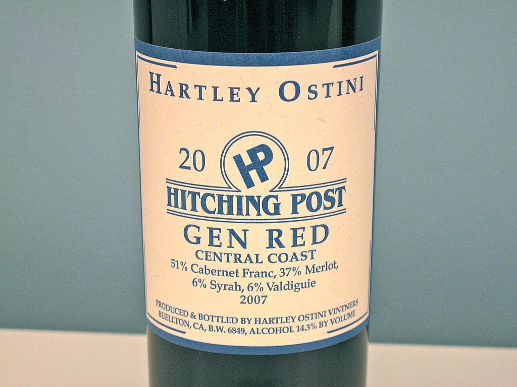 2007 Hitching Post Gen Red