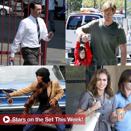 Jon Hamm, Halle Berry, Alexander Skarsgard, and More Stars on Set This Week!