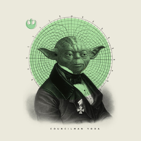 The always noble councilman Yoda.