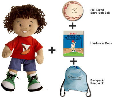 Bur Bur Biracial Boy Doll & Gift Set ($40)