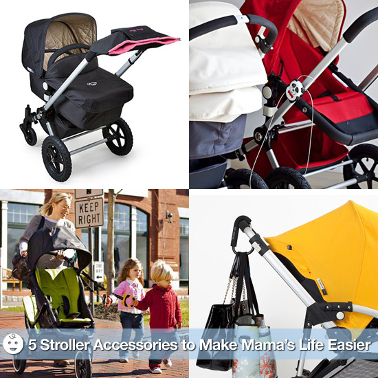 Accessorize Your Wheels! 5 Stroller Accessories to Make Mama's Life a Little Easier