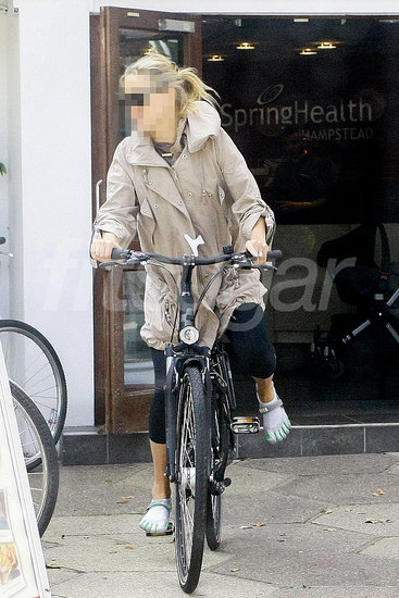Guess Which Celeb Is Riding a Bike?